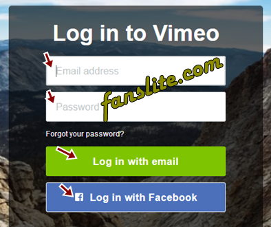 how to create a vimeo account