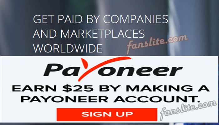 how to create payoneer account in bangladesh