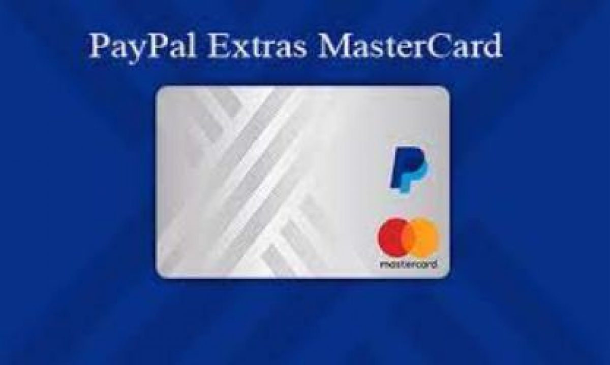 Paypal Extras Mastercard How To Apply For Paypal Mastercard